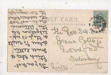 Rev SH Scott Irana Cottage Woodford Salisbury 1904 524b