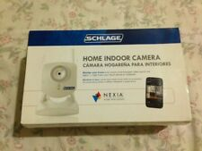 NEW Schlage WCW100 Home Indoor Camera Monitor Nexia Intelligence White