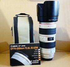 Canon EF 70-200mm f/2.8L IS USM Camera Lens