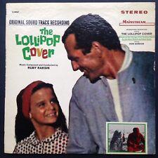 Rare stereo import! Ruby Raksin THE LOLLIPOP COVER soundtrack LP 1965 Don Gordon