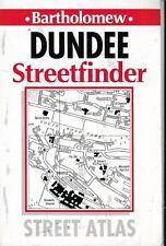 Bartholomew Dundee Streetfinder Atlas Map 1991 Scotland Scottish