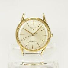 Rare LONGINES Jamboree Armbanduhr gold pl. Taschenuhr Uhr wrist watch Herren RAR