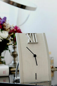 Desk Clock Metal and Wood for Home and Business - Different Styles