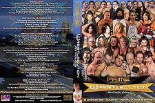 "PWO/PRIME Wrestling ""Wrestlelution Anthology"" DVD 6 Discs, 20 Hours, 100 Stars"