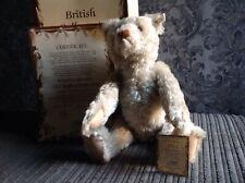 Steiff British Collector's Bear 1992, 1911 Replica Teddy Bear.