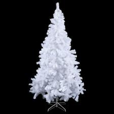 CostaWay Christmas Tree Traditional Indoor Artificial Decoration Tree, White 7ft