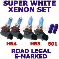 FORD PUMA 1997-2002 SET HB3  HB4  501 XENON WHITE  LIGHT BULBS