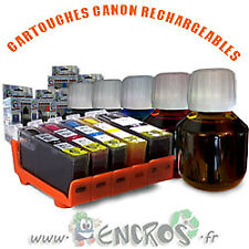 RECHARGEABLE Pack de 4 Cartouches Rechargeables CANON CLI8/PGI5