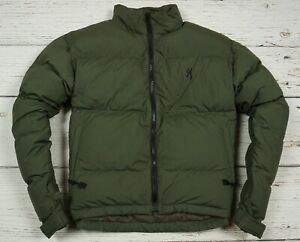 BROWNING LINING JACKET COAT MEN GOOSE DOWN HUNTING FOREST OUTDOOR GREEN Size S