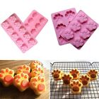 Silicone Cat's Paw Ice Cube Chocolate Cake Cookie Soap Mold Mould Baking Tray