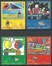 Israel 2000 Stamps CHILDREN'S PAINTINGS OF THE FUTURE. MNH.(Nice Set).