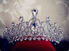 Beauty Pageant Queen Rhinestone Bridal Wedding Prom Tiara Comb Crown NEW