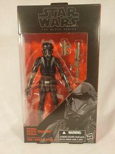 Hasbro Star Wars Black Series 6 Inch #25 Imperial Death Trooper NIB Action...