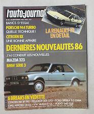 L AUTO JOURNAL - BIMENSUEL N° 16 - 15 SEPTEMBRE 1985 *