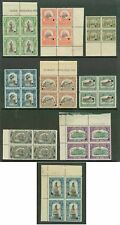Peru 1907 set American Bank Note Co. specimen BLOCKS -2