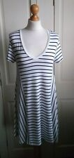 Zara Fab Black and White Tunic / Swing Style Dress size 14
