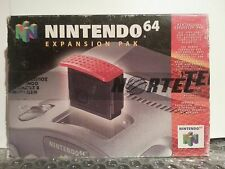 N64 Nintendo 64 EXPANSION PAK (Model No: NUS-007) BRAND NEW & SEALED