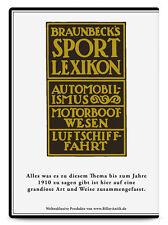 CD Set Braunbecks Sport Lexikon Automobil Luftfahrt Motorboote Rennwagen Benz
