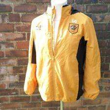 Hull City Umbro Football Warm Up Top Thin Jacket Coat Player Issue Tigers Mens M