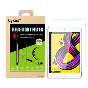 Cyxus Blue Light Blocking Screen Tempered Glass All iPad 1/2/3/4/5 mini 4/Air