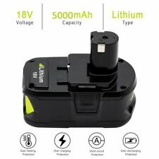 Batterie Ryobi 18v One+ Plus 5.0AH RB18L25 RB18L40 RB18L50 P108 P107 P104 P780