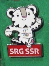 PyeongChang 23rd Winter OLYMPIC GAMES  SWISS MEDIA SRG SSR RADIO TV scarce pin