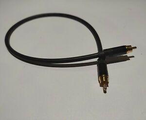 Digital Audio Video Coaxial Cable - Van Damme 75ohm RCA 50cm Neutrik rean RCAs