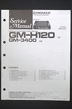 Pioneer gm-h120 gm-3400 POWER AMPLIFIER SERVICE-manual/schéma de branchement/Diagram o13