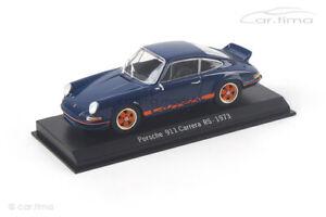 Porsche 911 Carrera RS 2,7 blau/orange Spark 1:43 SDC001