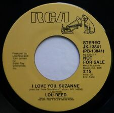 LOU REED 45 I Love You, Suzanne RCA VICTOR rock VG+ promo ak381