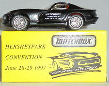 MJ7 Matchbox - Toy Show - Dodge Viper - Black - Hershey, PA 1997