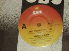 "JENNIFER RUSH *RARE 7"" 45 ' THE POWER OF LOVE ' 1984 VGC"