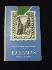 POSTAGE STAMPS & POSTAL HISTORY OF THE BAHAMAS by HAROLD G D GISBURN