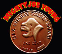 Mighty Joe Young 1949 Oversized Coin Prop Replica Forrest J Ackerman Collection