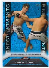 2013 Topps Finest UFC Moments Blue Refractor Rory MacDonald #080/188