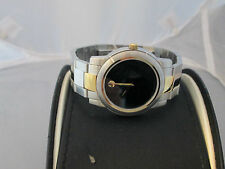 Men's Movado Watch Swiss Made Stainless Steel Water Resistant Sapphire Crystal