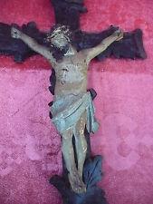 schöne,sehr altes Kruzifix __geschnitzt und gefasst__52cm !