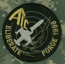 NATO F-104 STAR FIGHTER ATC 1998 NATO DELIBERATE FORGE COMMEMORATIVE PATCH