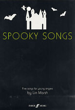 Lin Marsh: Spooky Songs (Voice and Piano) Voice, Piano Accompaniment Sheet Music
