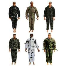5Pcs 1/6 21st Century Toys Overcoat topcoat WWII USA US The Ultimate Soldier
