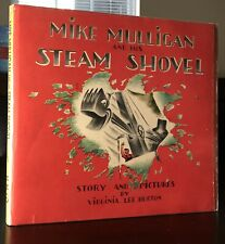 MIKE MULLIGAN and HIS STEAM SHOVEL 1939 1ST/1ST In Early DJ Virginia Lee Burton