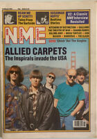 NME Music Magazine 16 March 1991 Inspiral Carpets, U2, Mock Turtles,