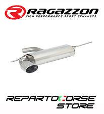 RAGAZZON SCARICO TERMINALE OVALE 135x90MM VW GOLF VI 6 2.0GTD 125kW 170CV 11/08►