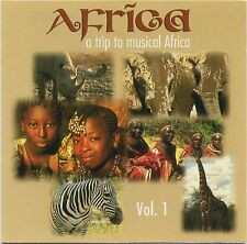 A Trip to the Music Of AFRICA Vol. 1 by BARRY DONNELY rare The World In Music CD