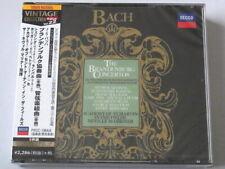 Bach Brandenburg Concertos Neville Marriner Szeryng 3CD TOWER RECORDS JAPAN