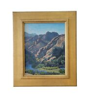 Matthew Reynolds Listed California Fine Art Oil Painting Mountain Lake Landscape