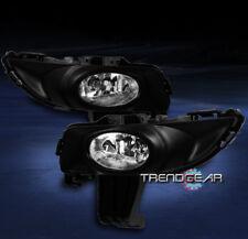 2004 2005 2006 MAZDA 3 MAZDA3 SEDAN 4DR JDM BUMPER CHROME FOG LIGHTS+HARNESS KIT