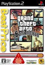 Used PS2 Grand Theft Auto: San Andreas  SONY PLAYSTATION 2 JAPAN