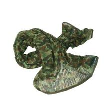 Tactical Military Multifunctional Cotton Camo Scrim Scarf Face Veil Mask