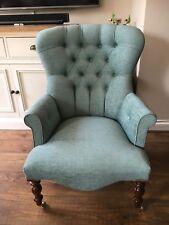 Provence Chair Armchair Duck Egg / Green Handmade UK John Lewis Fabric